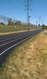 Running Track After Reconstruction