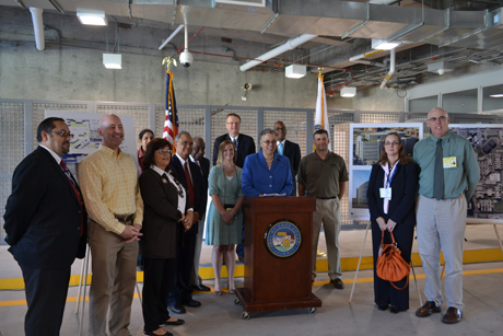 President Preckwinkle Opens Medical Facility at the Cook