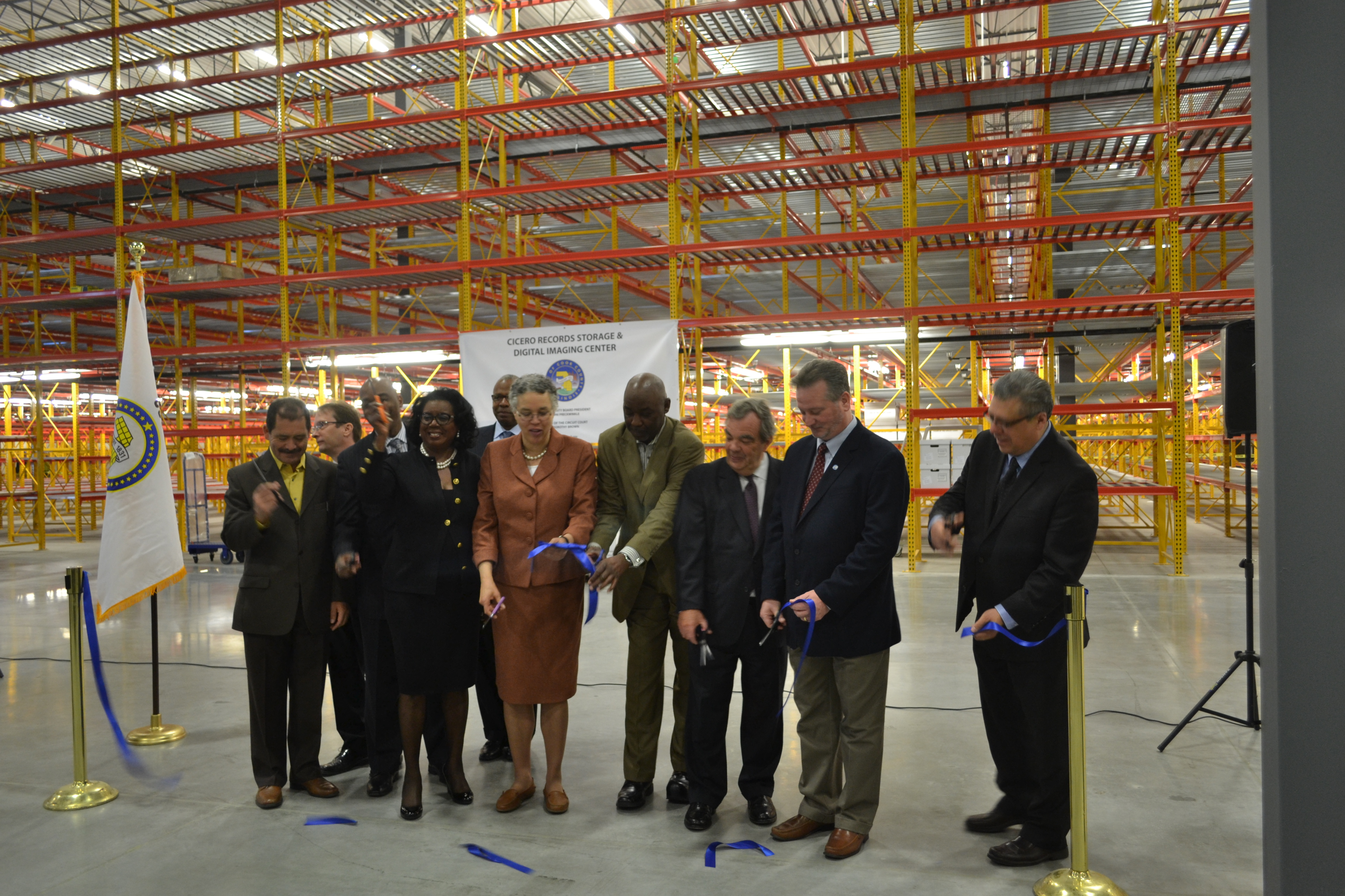 Illinois cook county cicero - April 22 2014 Cook County President Toni Preckwinkle And Clerk Of The Circuit Court Dorothy Brown Announced The Opening Of The New Records Storage And