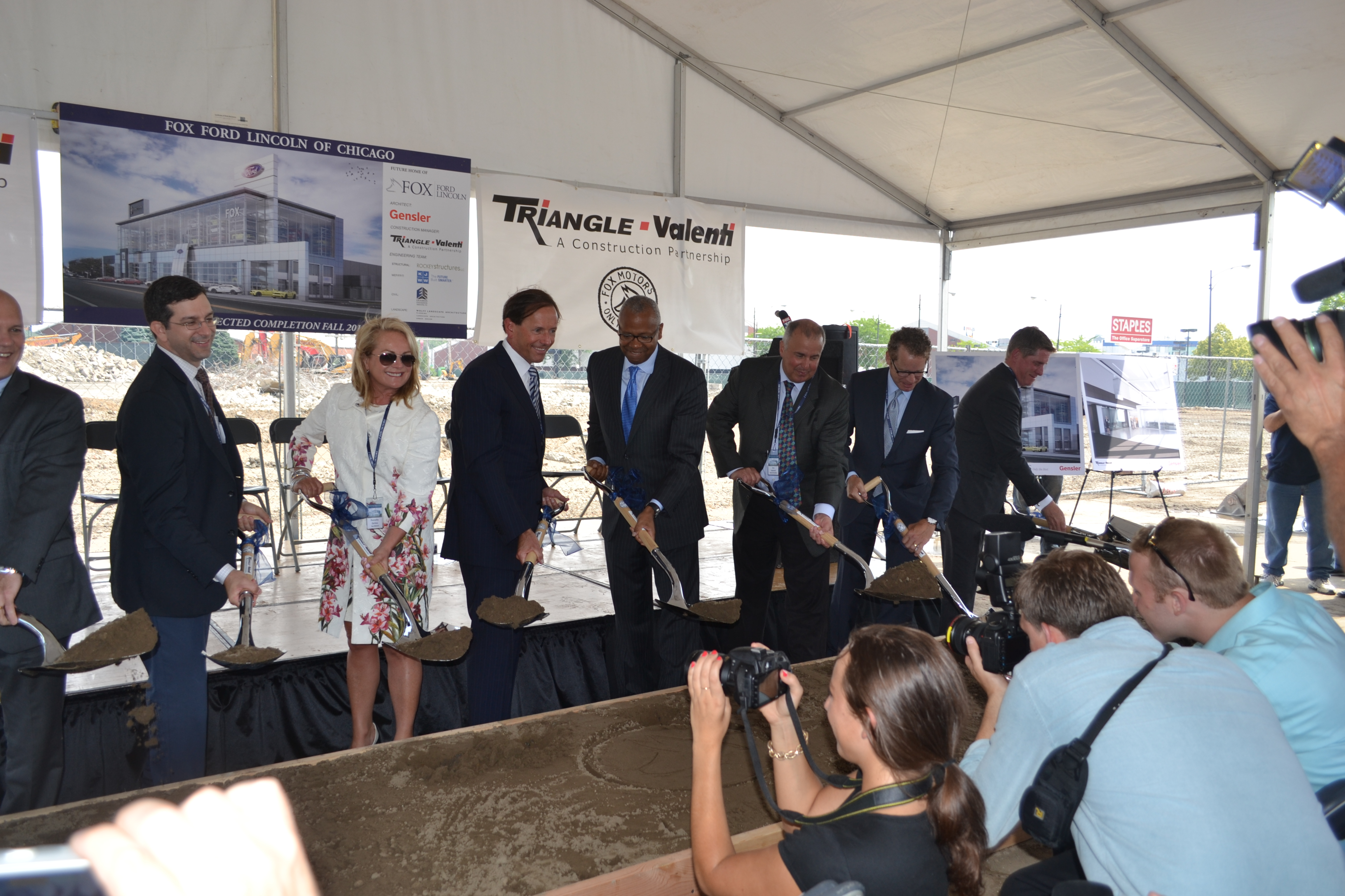 Fox Motors Groundbreaking Cook County Economic