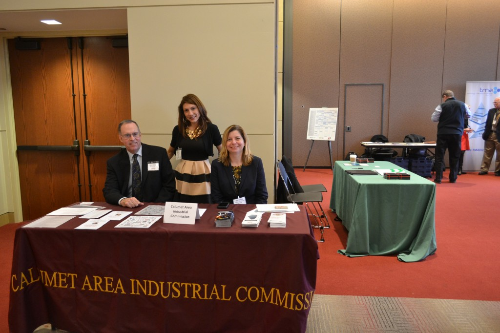 The Calumet Industrial Commission was also represented.