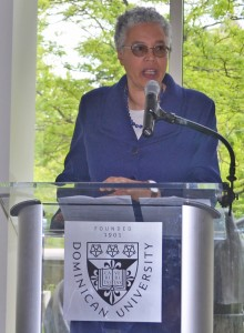 President Preckwinkle Addresses Oak Park-River Forest Chamber of Commerce Annual Forum:   State of the County