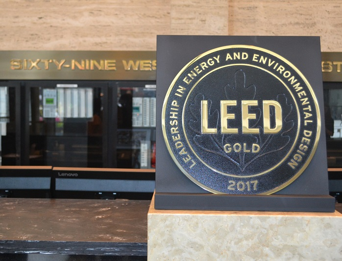 President Preckwinkle Announces Leed Gold Certification For Cook