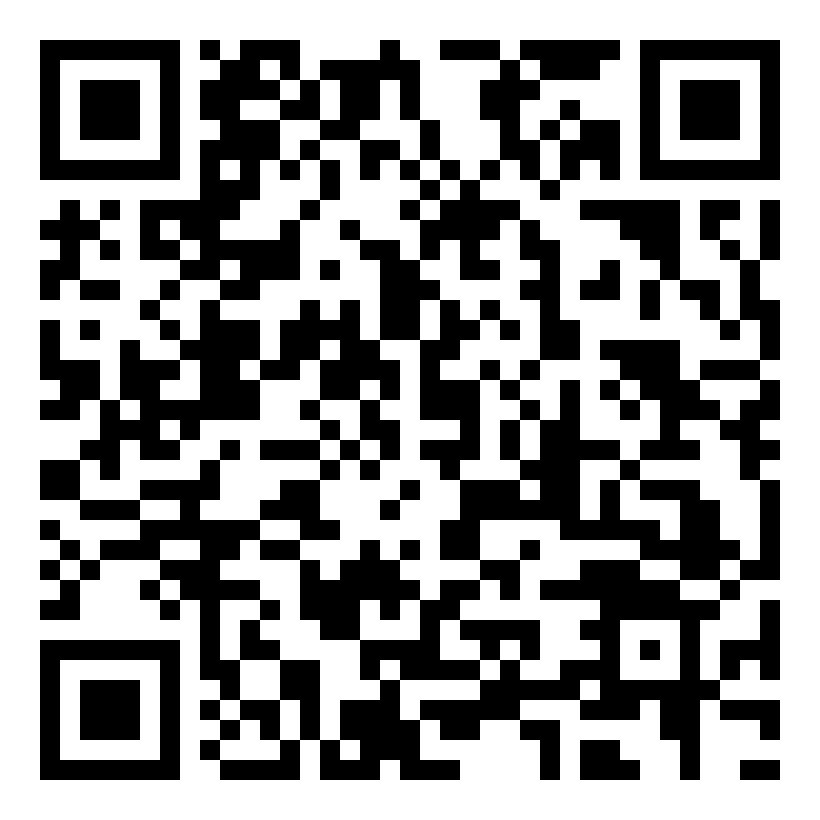 Scan the QR Code with your smartphone for a map and directions